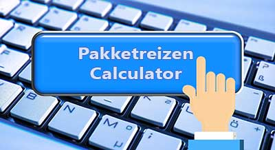 pakketreizen calculator