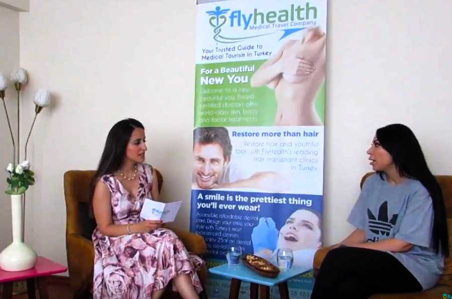 Borst lift met implantatie Ervaring (Patiënt uit Australië) - Flyhealth Turkije