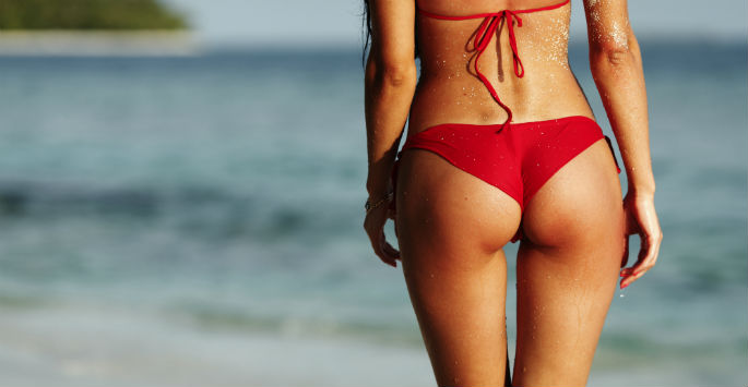 Na haar Brazilian Butt lift en Liposuctie in Istanbul